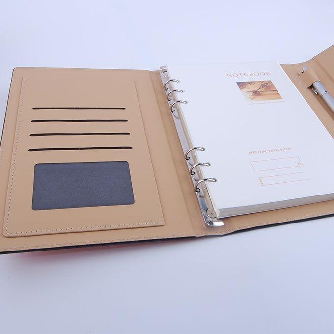 活页笔记本产品有哪些优点,什么商务本册受欢迎