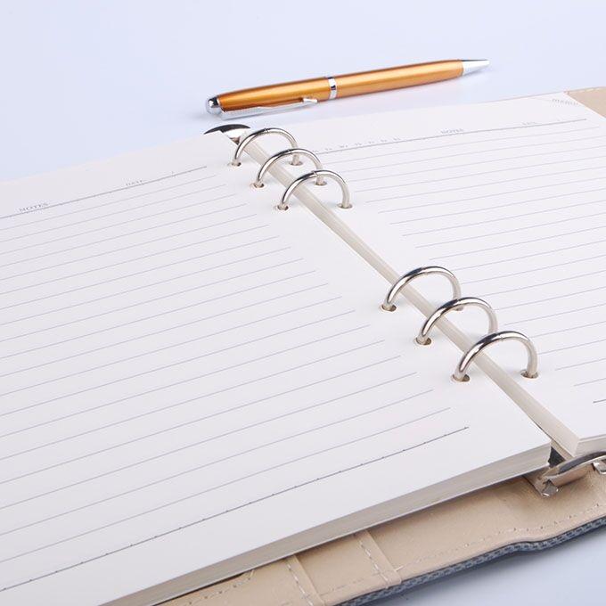 活页笔记本定制是礼品笔记本首选
