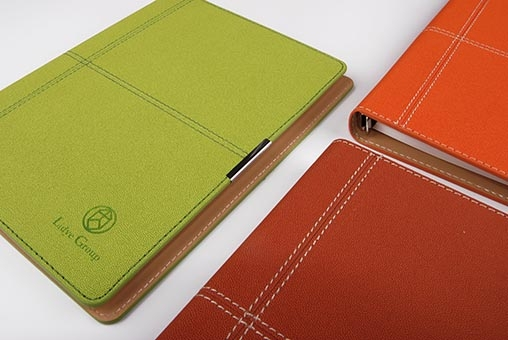 笔记本定制不同皮料的特性