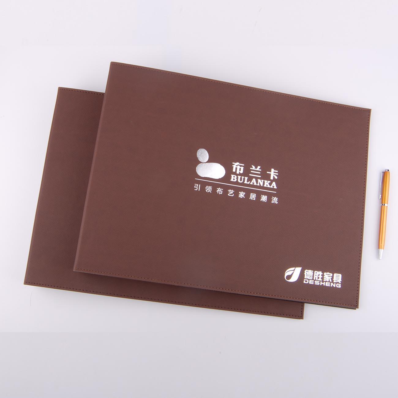 产品陈列皮革文件夹