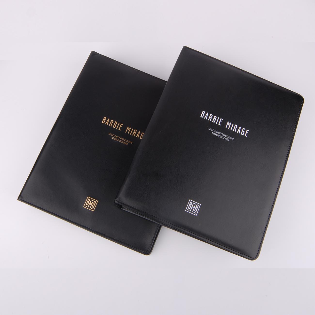 皮革文件夹-小明本册