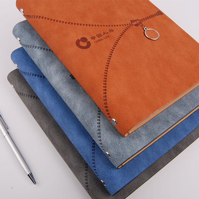 金属装饰活页笔记本