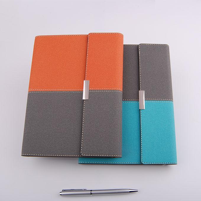 拼色三折活页笔记本