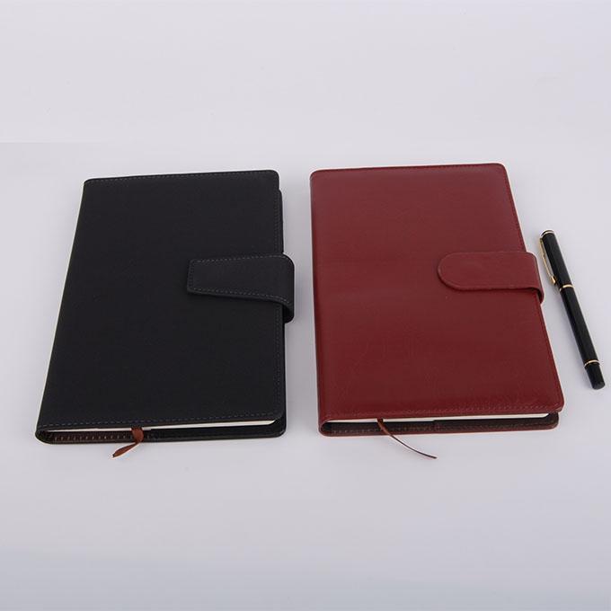 带名片插卡平装笔记本