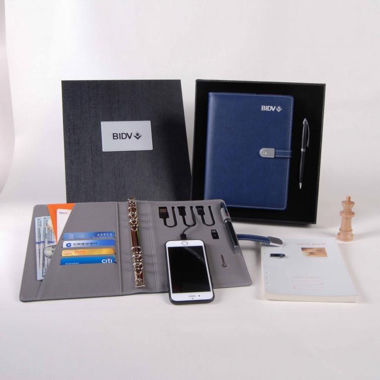 无线充电宝笔记本定做礼盒装